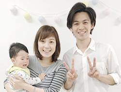 産後ママと3ショット